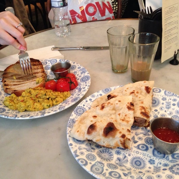 Photo taken at Dishoom by Scoff on 2/1/2014