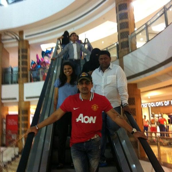 Photo taken at Inorbit Mall by Devang O. on 3/23/2013