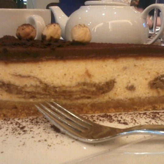 Photo taken at Zebra Café by Julia T. on 4/17/2013