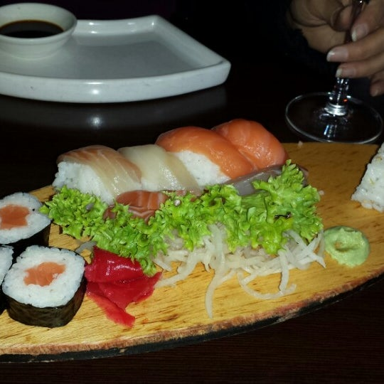 Photo taken at Sushi Club by Carlos A. on 1/19/2014