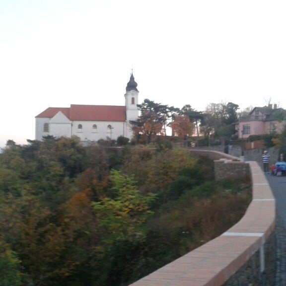 Photo taken at Tihanyi Apátság by Gábor B. on 10/26/2013