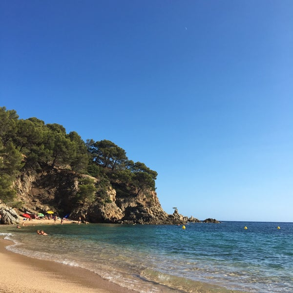 Photo taken at Cala Canyelles by Stefanie M. on 9/7/2016