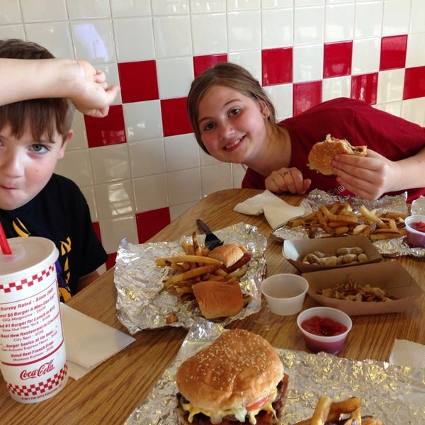 Photo taken at Five Guys by Meredith H. on 5/21/2013