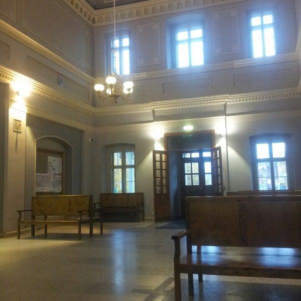 Photo taken at Tartu Raudteejaam by Mark M. on 10/19/2014