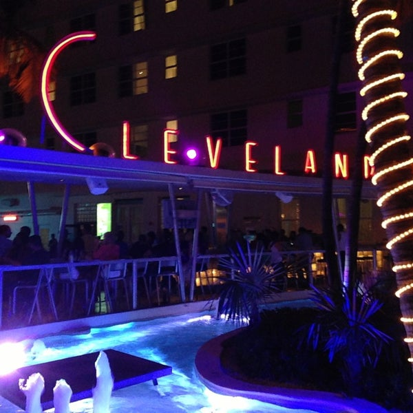 Photo taken at Clevelander South Beach Hotel and Bar by Vladimirov N. on 4/1/2013