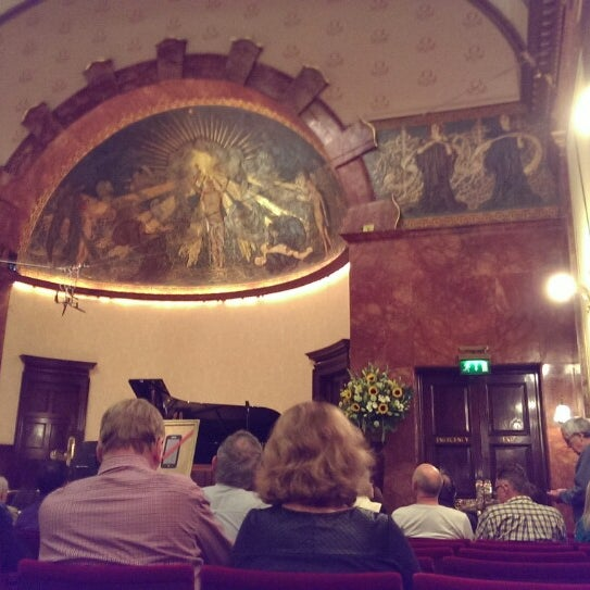 Photo taken at Wigmore Hall by Glenn W. on 9/14/2014