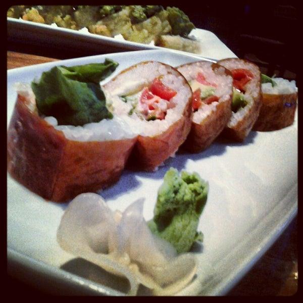 Photo taken at Blue Sushi Sake Grill by Vanessa P. on 10/27/2012
