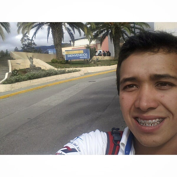 Photo taken at Universidad Técnica Particular de Loja by Andres C. on 11/8/2014