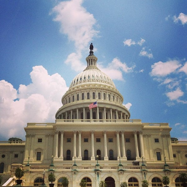 Photo taken at United States Capitol Building by Rudy on 6/17/2013