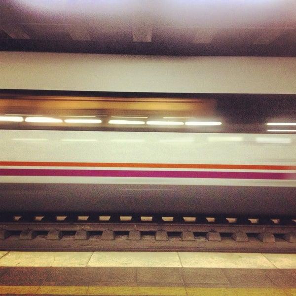 Photo taken at Estació de Tren - València-Cabanyal by Africa B. on 1/21/2013