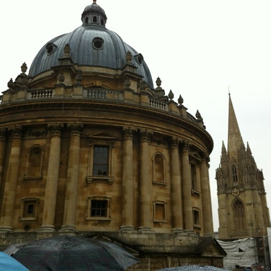 Photo taken at Radcliffe Camera by Ron Michael Z. on 9/23/2012