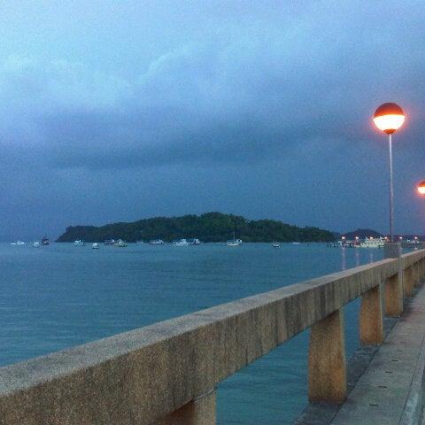 Photo taken at Ao Por Pier by John R. on 12/10/2012