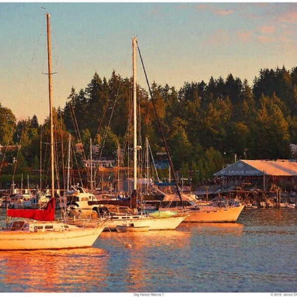 Photo taken at Gig Harbor Waterfront by Bleau P. on 5/19/2016