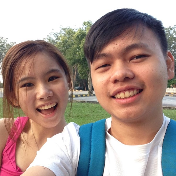 Photo taken at Agricultural Park by Athrienn Y. on 2/14/2015
