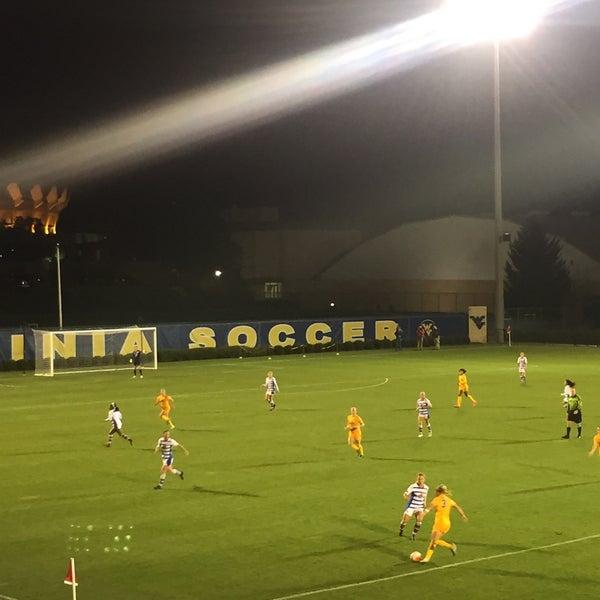 Photo taken at Dick Dlesk Soccer Stadium by Chris B. on 10/17/2015