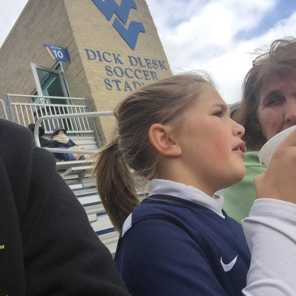 Photo taken at Dick Dlesk Soccer Stadium by Chris B. on 10/18/2015