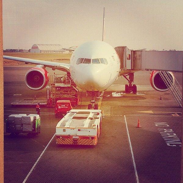 Photo taken at Jomo Kenyatta International Airport (NBO) by mentalacrobatics on 7/14/2013