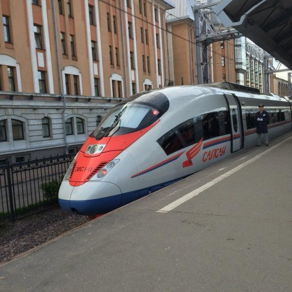 Купить билеты на поезда Сапсан Санкт Петербург Москва