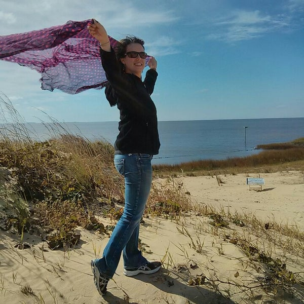 Photo taken at Jockey's Ridge State Park by Jean L. on 10/20/2013