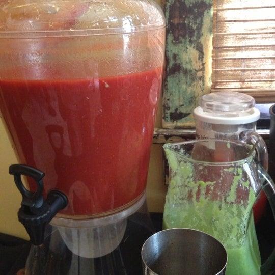 Photo taken at Atchafalaya Restaurant by Alejandro G. on 10/7/2012