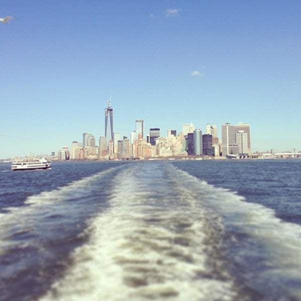 Photo taken at New York Harbor by Andrew S. on 3/5/2013