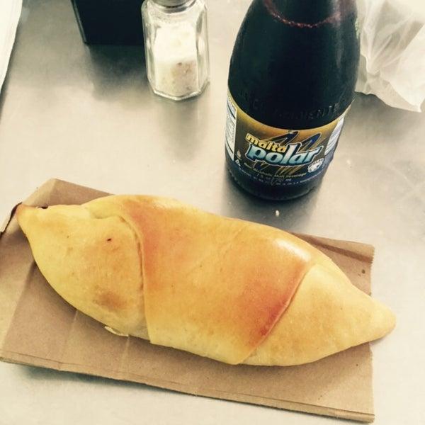 Photo taken at Panadería Los Venezolanos by Jorge C. on 1/17/2015
