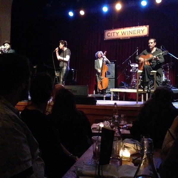 Photo taken at Napa Valley Opera House by Barbara S. on 4/18/2014