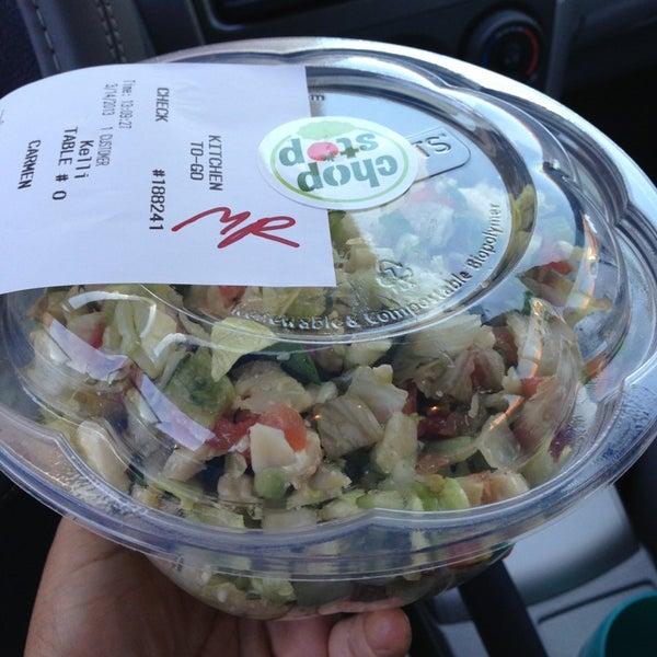 Salad for Fish dish sherman oaks