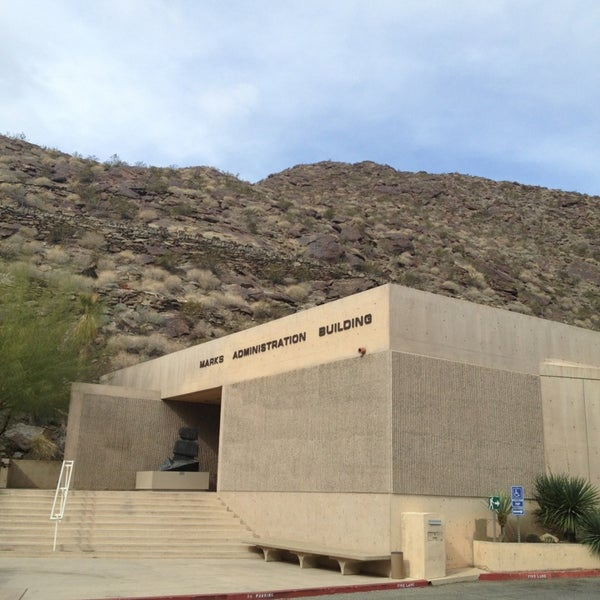 Photo taken at Palm Springs Art Museum by Adam L. on 2/20/2013