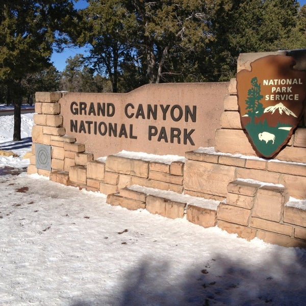 Photo taken at Grand Canyon National Park by Toshiki O. on 12/28/2012