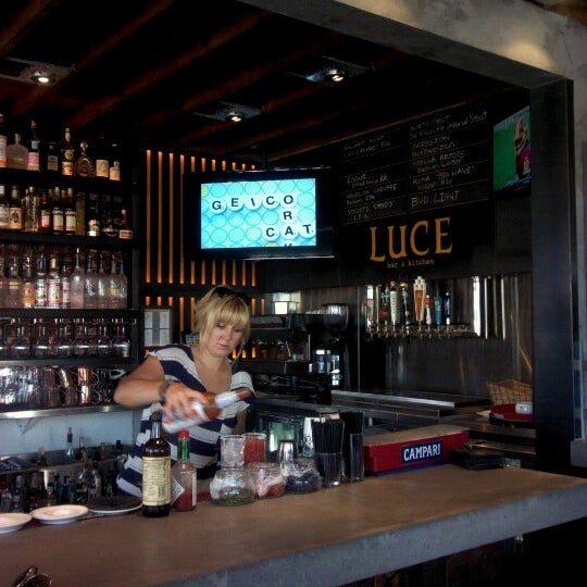 Luce Bar And Kitchen San Diego Menu