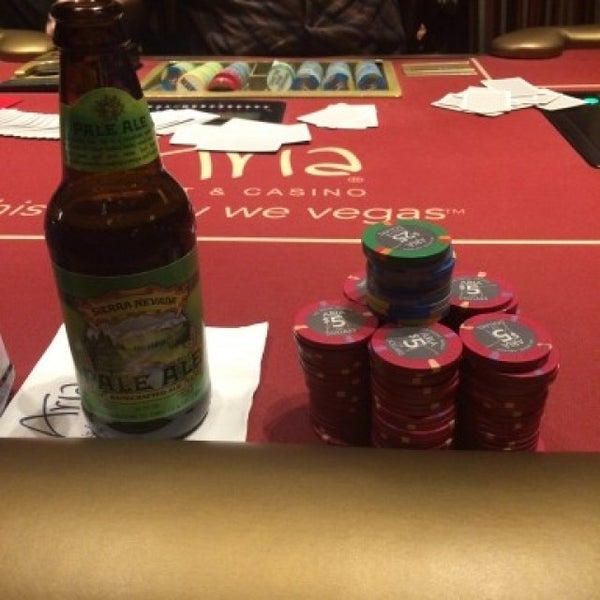 Photo taken at Aria Poker Room by Marcio G. on 9/4/2015
