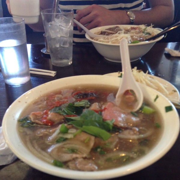 Photo taken at Pho Bac by Cat H. on 5/10/2015