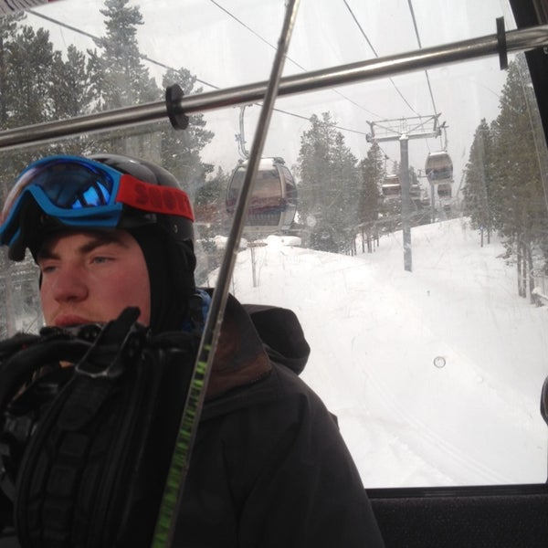 Photo taken at Breck Connect Gondola by 🇺🇸K G. on 2/9/2014