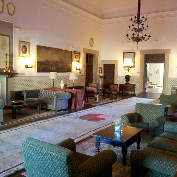 Photo taken at Hotel Parador de Oropesa by Miky M. on 1/16/2016