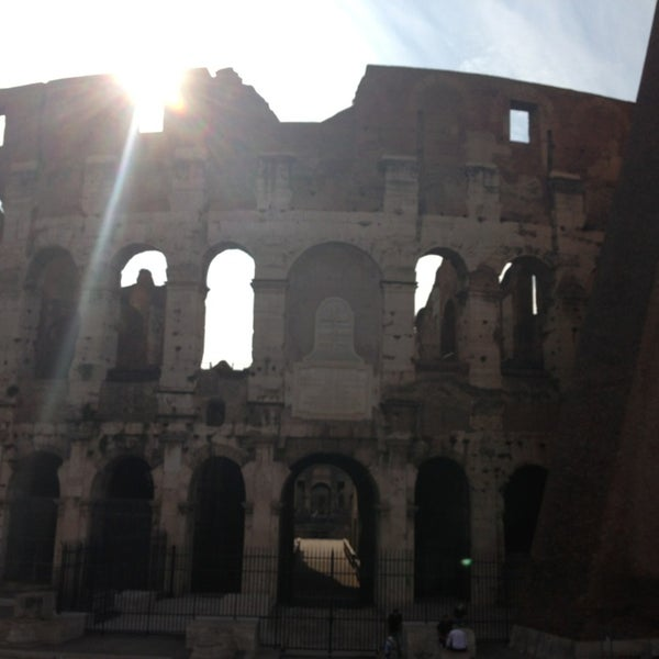 Photo taken at Piazza del Colosseo by AUSTIN on 6/29/2013