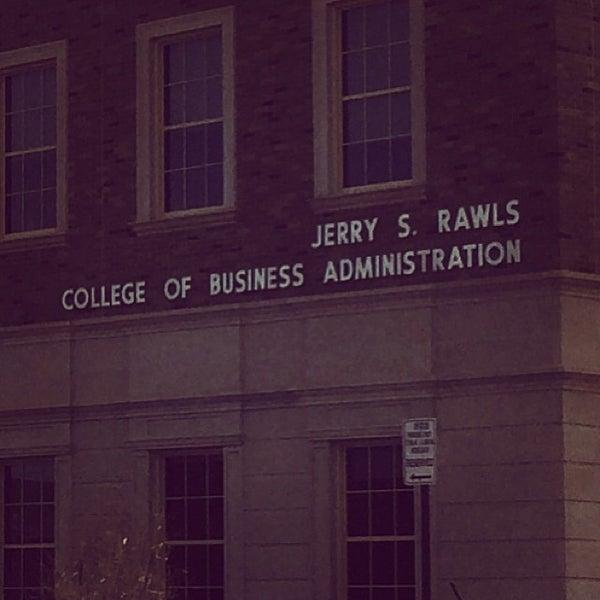 Photo taken at TTU - Rawls College of Business by Elías Z. on 1/26/2014