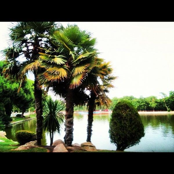 Photo taken at Lago de la Casa de Campo by Carmencita on 7/25/2012
