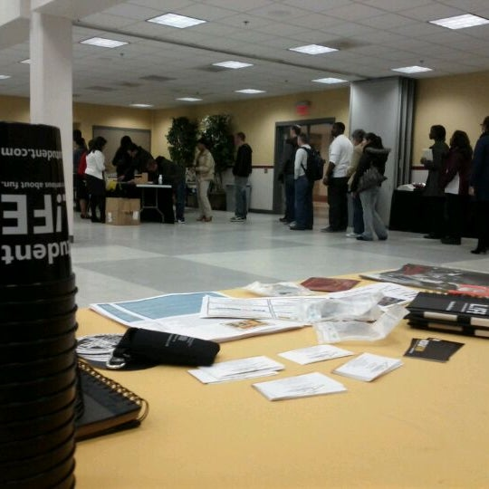 Photo taken at Carmichael Student Center by Ed B. on 12/10/2011