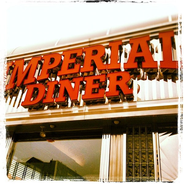 Photo taken at Imperial Diner by Billy H. on 5/25/2012