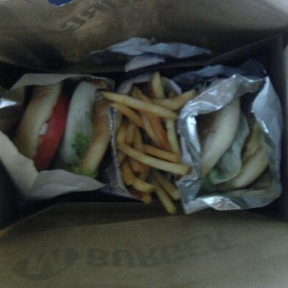 Photo taken at M Burger by @jayelarex on 3/31/2012