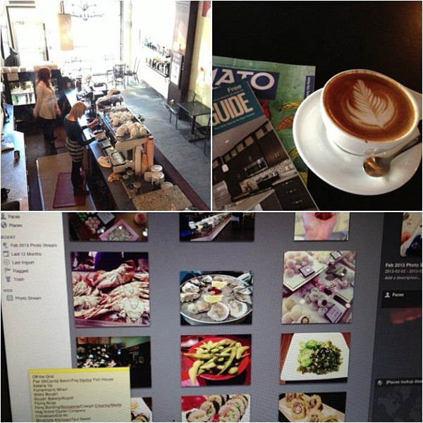 Photo taken at Transcend Coffee by Cindy N. on 2/23/2013