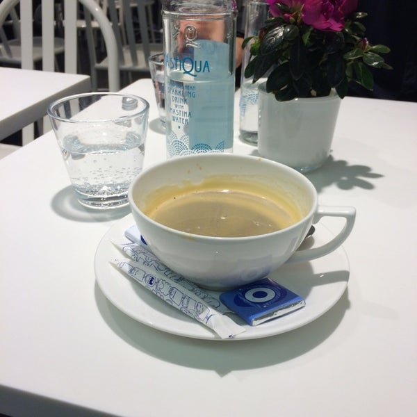 Photo taken at Water-Bar – Chez Colette by Grigoris B. on 10/23/2014