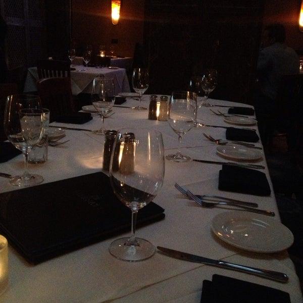 Photo taken at Al Biernat's Prime Steak & Seafood by Heather F. on 10/7/2013