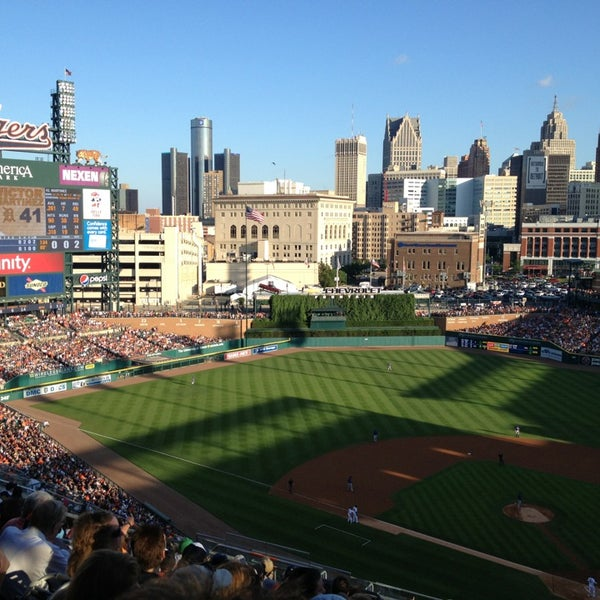 Photo taken at Comerica Park by Jack H. on 7/13/2013