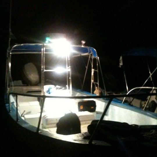 Photo taken at Playa Pichilingue by Lula G. on 10/21/2012