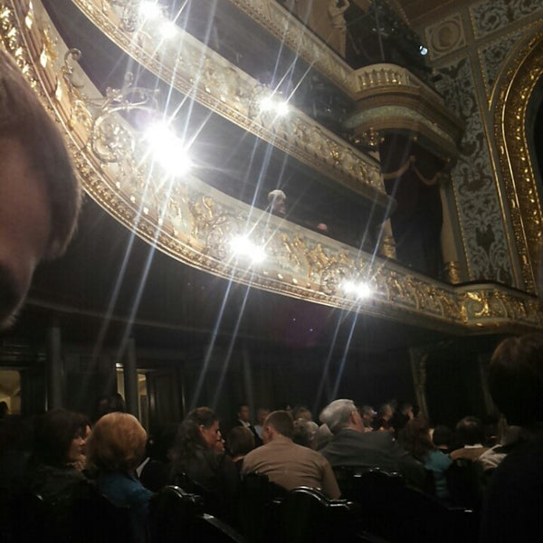 Photo taken at Latvijas Nacionālā Opera | Latvian National Opera by Zane B. on 3/6/2014