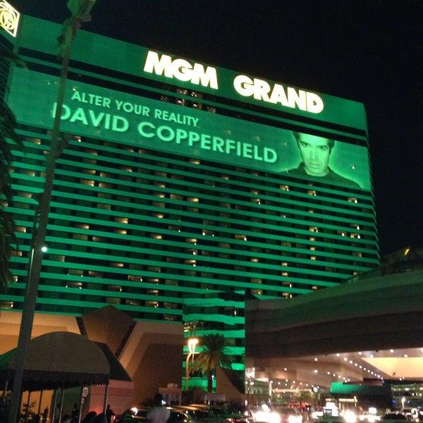 Photo taken at MGM Grand Hotel & Casino by Bob B. on 5/4/2013