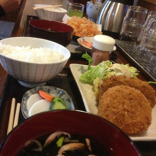 Photo taken at 食堂さくら屋 by Tanikawa S. on 4/7/2013