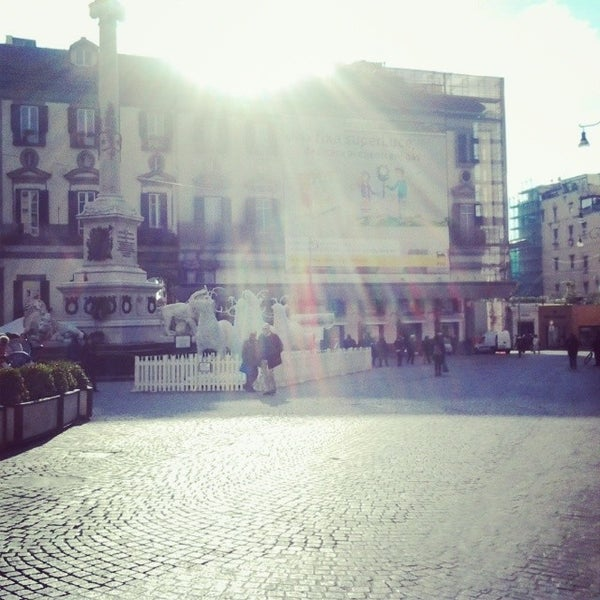 Photo taken at Piazza dei Martiri by Lucia R. on 12/14/2013